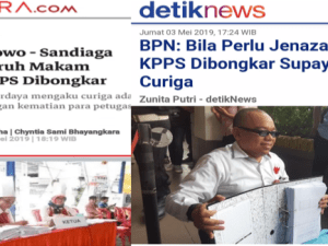 Kritikan Pedas Netizen: Politisasi Mayat Kubu 02 Tak Beradab