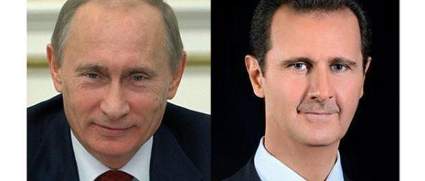Putin dan Bashar Assad