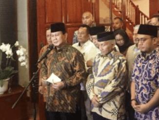Prabowo dan Amien Rais