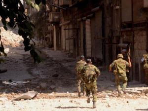 Tentara SAA di Latakia