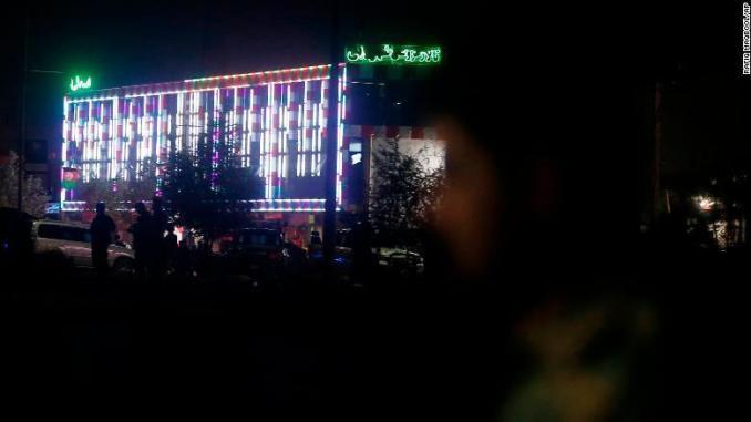 Ledakan bom di Kabul