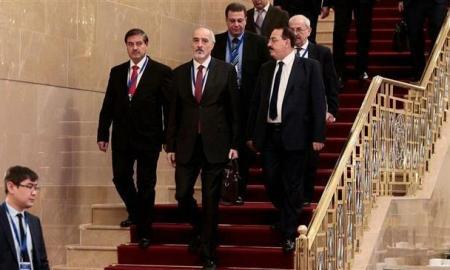 Delegasi Suriah di Astana