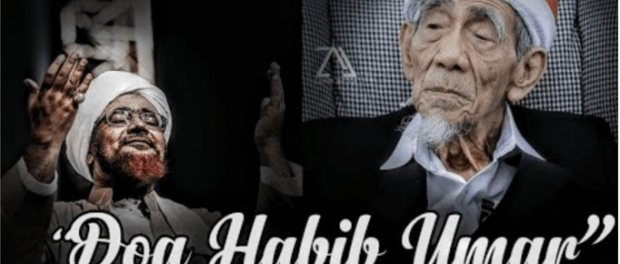 Doa Habib Umar bin Hafidz buat Mbah Moen