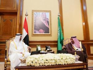 Putra Mahkota UEA bertemui Raja Salman
