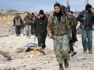 Teroris Jabhat Nusra di Latakia
