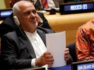Menlu Iran, Javad Zarif di PBB