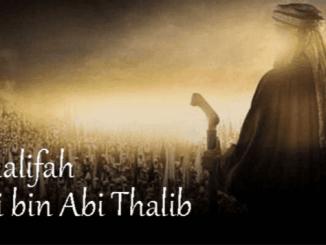 Khalifah Ali bin Abi Thalib