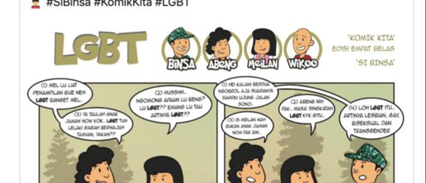 Komik Soal LGBT