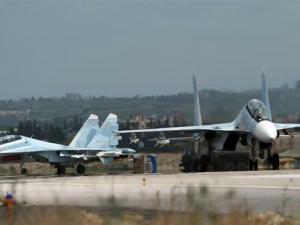 Pangkalan Udara Hmeimim Rusia di Suriah