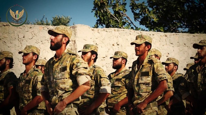 Pemberontak Dukungan Turki