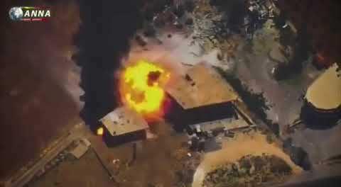 Serangan Udara Rusia di Idlib Selatan