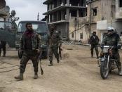 Tentara Suriah di Daraa