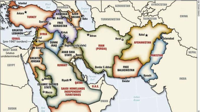 Proyek Israel di Timur Tengah
