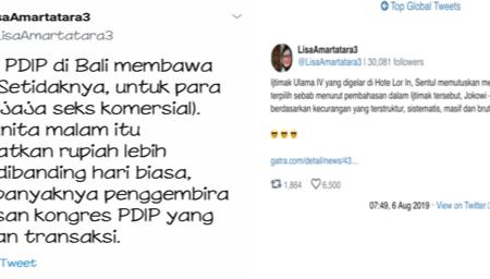 Twitter Hina PDIP