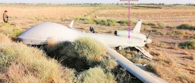 Drone AS Jatih di Irak