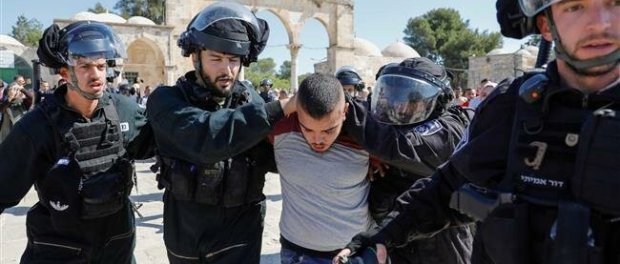 Polisi Israel tangkap warga Palestina