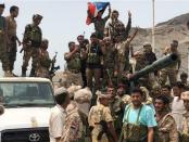 Separatis dukungan Saudi di Aden