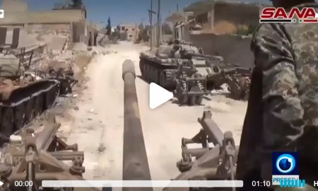 Tentara Suriah bebaskan sejumlah desa di idlib