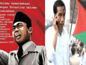 Bung Karno dan Jokowi Bela Palestina