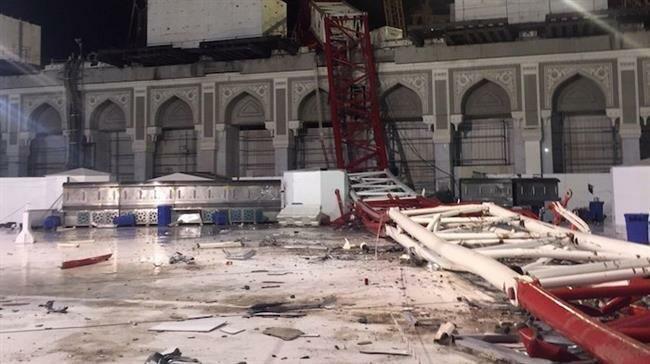 Tragedi berdarah crane jatuh di Majidil Haram