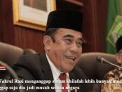 Menteri Agama, Fachrul Razi, Khilafah