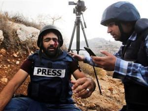 Ditembak Israel, Jurnalis Palestina ini Buta Sebelah