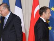 """Prancis Panggil Dubes Turki Pasca Erdogan Hina Macron """"Mati Otak"""""""