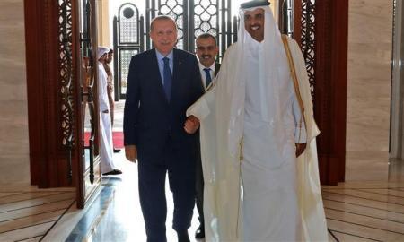 Di Qatar, Erdogan Perkuat Hubungan Militer dengan Doha