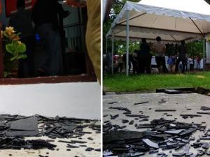 Ledakan di Kejari Parepare Sulaweis Selatan