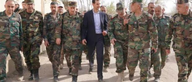 Assad: Tentara Suriah Akan Usir Pasukan Amerika