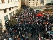 Demo Lebanon, Saad Hariri, Lebanon
