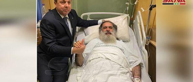 Bashar Assad Perintahkan Diplomatnya di Amman Jenguk Uskup Agung Atallah Hanna
