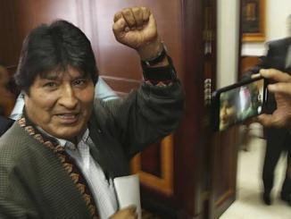 Evo Morales Dapatkan Suaka Baru di Argentina