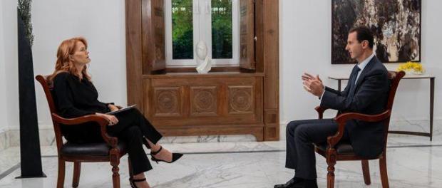 Siaran Wawancara Bashar Assad dengan TV Italia Diblokir, SANA Rilis Video Lengkap