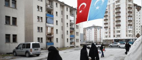 Apartemen Warga Uighur di Turki