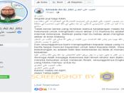 Hoax, Habib Ali Al-Jufri ke Indonesia Hadiri Reuni 212