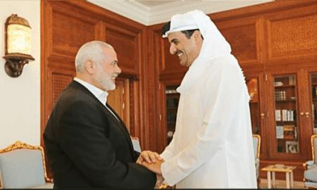 Bertemu Emir Qatar, Haniyeh Bicarakan Pemilu Palestina