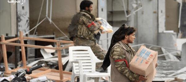 Teroris Dukungan Turki Jarah Properti Warga Suriah di Hasakah