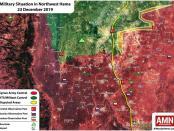 Tentara Suriah di Gerbang Kota Ma'arat Al-Nu'man, Idlib