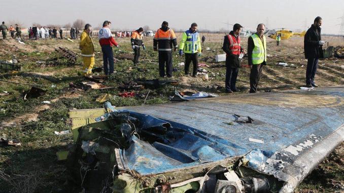 Iran: Kotak Hitam Pesawat Ukraina akan Didownload di Prancis
