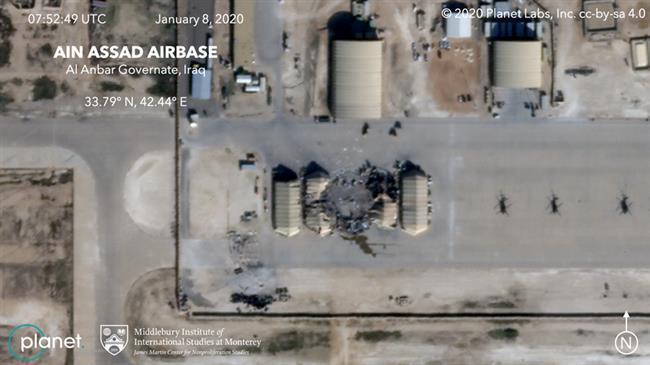 Trump Klaim Tak Ada Korban, Foto Satelit Perlihatkan Kerusakan Parah di Pangkalan yang Diserang Iran