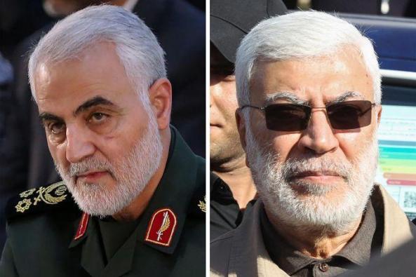 Jendral Soleimani, Abu Mahdi Al-Mohandes