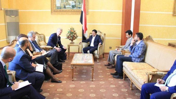 Perwakilan Eropa di Sana'a Diskusikan Bantuan kemanusiaan untuk Yaman