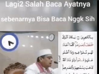 Netizen: Bisa Ngaji Gak Haikal Hassan, Kok Salah Melulu