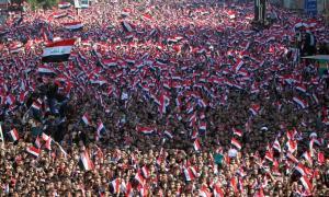 Jutaan Rakyat Irak Demo Tolak Kehadiran Militer AS