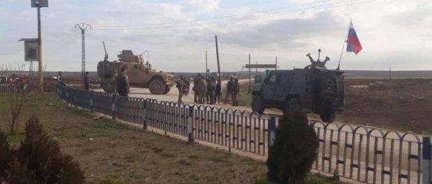 TV Al-Mayadeen: Pasukan AS dan Rusia Bentrok di Timur Laut Suriah