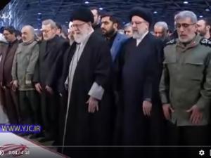 Ayatollah Khamenei Pimpin Salat Jenazah Qassem Soleimani: VIDEO