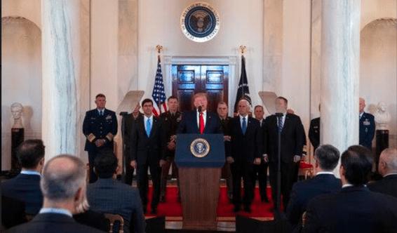 Trump Balas Serangan Iran dengan Berikan Sanksi Baru