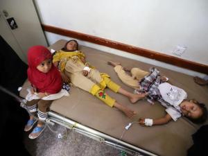 Save The Children: Puluhan Anak Yaman Meninggal karena Epidemi Demam Berdarah