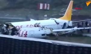 Satu Orang Dinyatakan Tewas, 157 Luka-luka dalam Kecelakaan Pesawat Turki